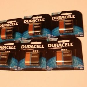 Duracell Ultra lithium 223 batteries for sale